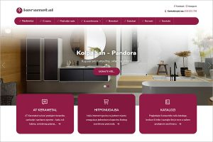Nove web stranice www.kerametal.com